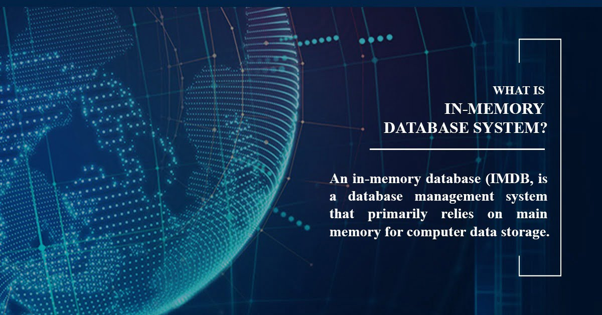 What is In-Memory Database System? <br>Why do you need it?